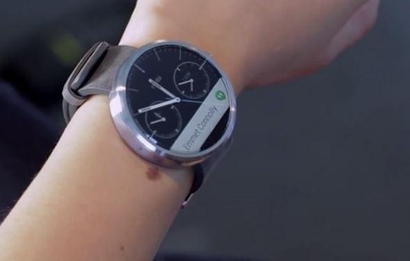 Motorola、「moto 360」のデモ動画を公開―Android Wearスマートウォッチ