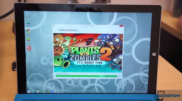 Surface Pro 3 で Androidアプリを動作させる動画―Bluestacksの話