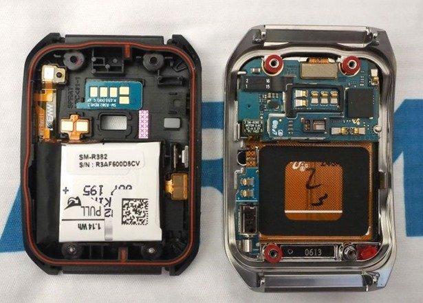 LG G Watch/Samsung Gear Liveが分解され、CPUが明らかに
