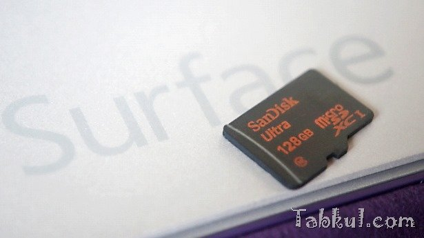 Surface Pro 3で128GBのMicroSDカードを試す―CrystalDiskMarkベンチマーク結果