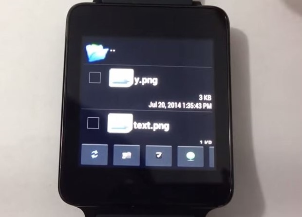 スマートウォッチのファイル管理アプリ『File Manager for Android Wear』登場、動画デモ