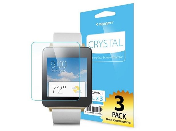 LG G Watch向けSpigen液晶保護フィルムと交換用ベルトを注文した話