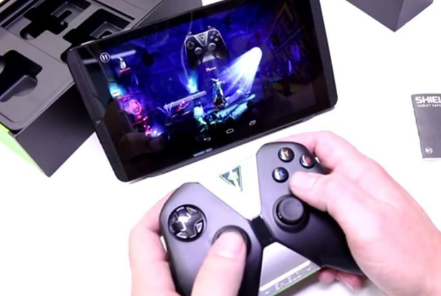 NVIDIA「Shield Tablet」と「Shield Controller」の開封動画