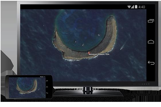 Chromecast、Android端末の画面ミラーリングに対応