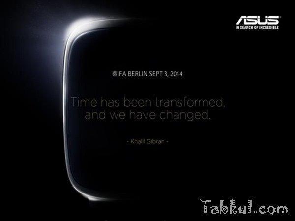 ASUS、初のスマートウォッチを一部公開―9月発表予定