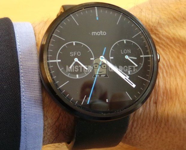 moto 360の発売日は8月下旬~9月上旬か、バッテリー駆動時間など海外レビュー
