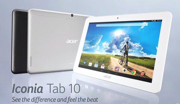 Acer、199ドルの10型『Iconia Tab 10』発表―スペックほか #IFA2014