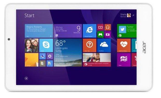 150ドルの『Acer Iconia Tab 8 W』発表、8型Windowsタブレット―スペックほか #IFA2014