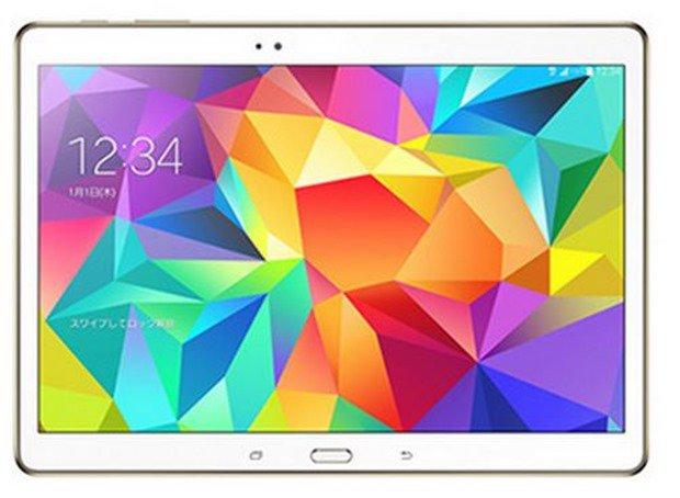 KDDI、10.5型Androidタブレット「GALAXY Tab S/SCT21」の12月発売を発表―スペックほか