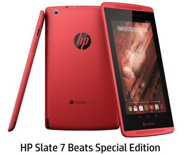 日本HP、サウンド重視Androidタブレット『HP Slate 7 Beats Special Edition』発表―スペックと価格ほか