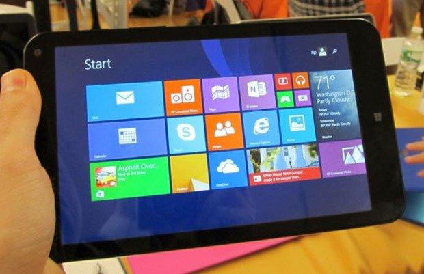 約1.64万円~4G対応8型Windows『HP Stream 8』のハンズオン動画