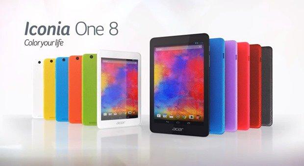 Acer、8型Androidタブレット『Iconia One 8』発表―スペックと価格ほか #IFA2014