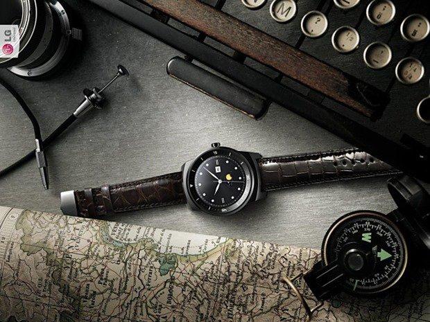 『LG G Watch R』は韓国で10/14発売、価格は約3.6万円