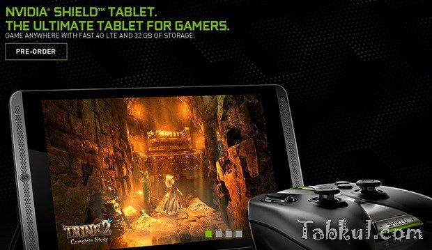 NVIDIA、『Shield Tablet LTE』予約開始を発表―価格399ドルで受付中