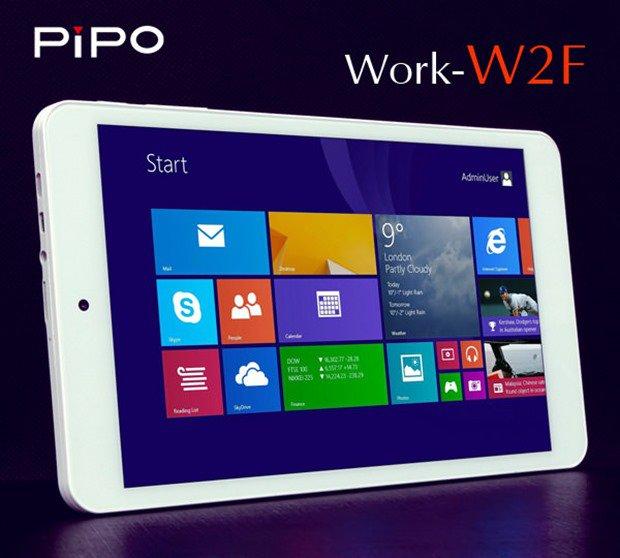 約1.2万円の8型Windows『PIPO Work-W2F』発表―RAM2GBなどスペック表