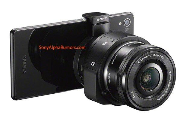 Sony、新型レンズスタイルカメラ『QX1』のプレス画像がリーク―APC-S/Eマウントほか