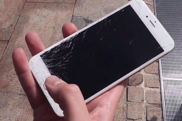 iPhone 6/iPhone 6 Plusの落下テストが公開される、本人の意志による動画
