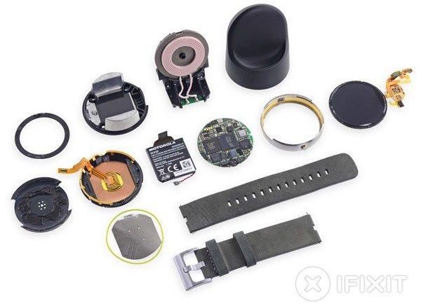 『Moto 360』分解で、公表値より少ないバッテリーや4年前のCPU使用と判明