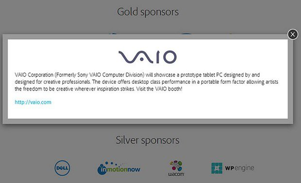 VAIO、10月初めに次世代プロセッサ搭載Windowsタブレット披露へ