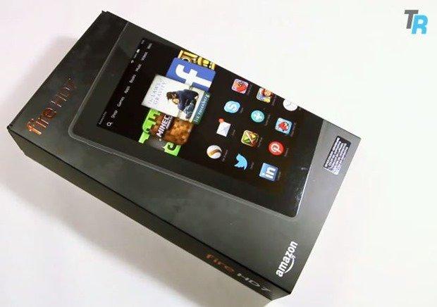 アマゾン最新タブレット『Fire HD 7』の開封動画、Fire OS 4のUIや3,000円割引クーポン