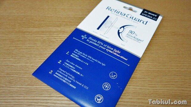 目にやさしい『Xperia Z2 D6503』用ブルーライト90%カット液晶保護フィルム購入レビュー