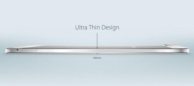 極薄4.85mmの5.5型『OPPO R5』発表、Xperia Z3/Nexus 5とスペック比較