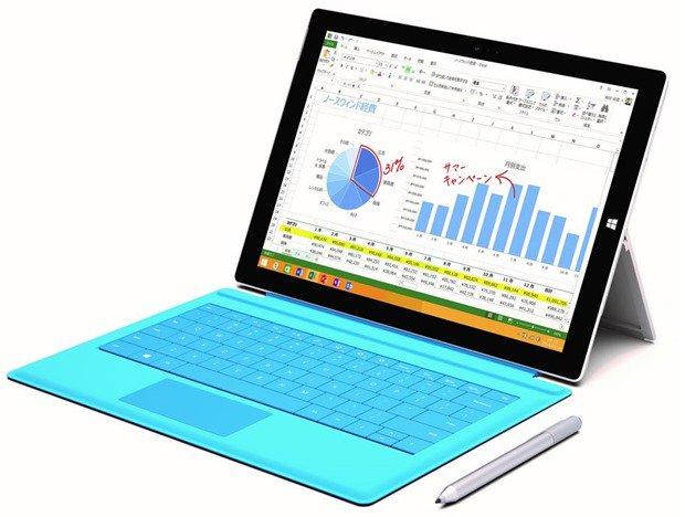 日本マイクロソフト、『Surface Pro 3』Core i3モデル発表―10/17日本発売、プロセッサの仕様を調べる