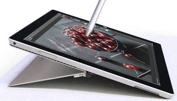 Microsoft、Surface Pro 3の「ペン」に設定オプションを追加へ