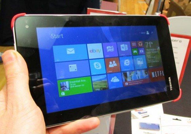 7型Windows『Toshiba Encore Mini』のハンズオン動画2つ