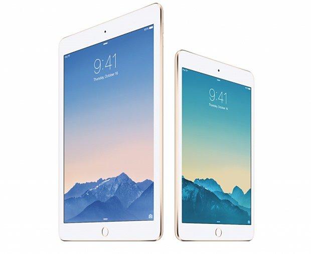 ドコモ、『iPad Air 2』『iPad mini 3』セルラーモデルを10月下旬に発売