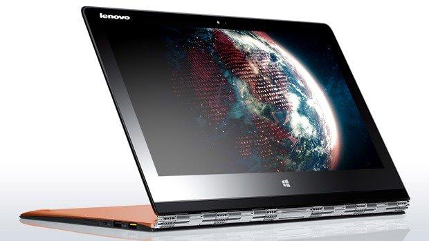 Lenovo、3200x1800/Core M搭載『YOGA 3 Pro』発表、Surface Pro 3 とスペック比較