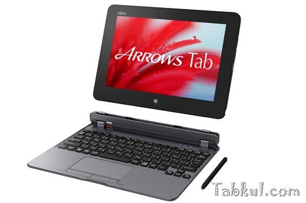 富士通、デジタイザ/キーボード2in1/10型『ARROWS Tab QH55/S』発表―ThinkPad 10とスペック比較