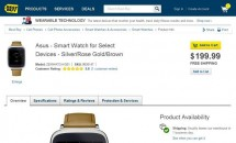 BestBuyが『ASUS ZenWatch』を200ドルで発売、日米の価格比較―Google Playにも登場