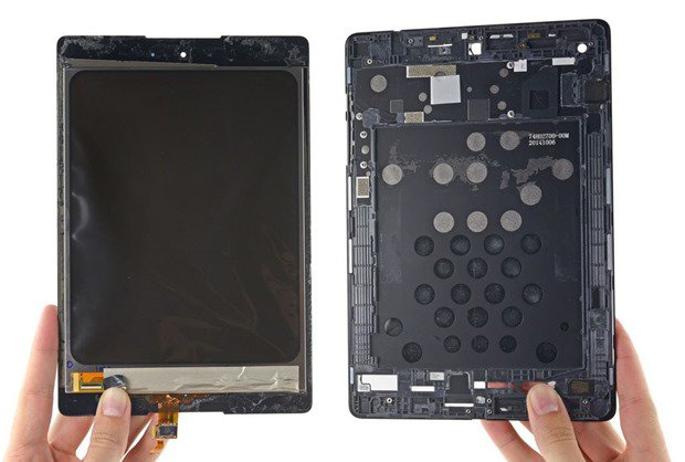 『Nexus 9』が分解されパーツが明らかに、内部ストレージを調べる―iFixit