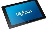 ドスパラが8~10型Windowsタブレット『Diginnos』シリーズ3機種を発表、スペック表と価格・出荷予定日