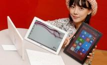 LG、スタンド付き10型Windows『Tab Book DUO』発表―スペックと価格
