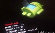 Nexus 5 をAndroid 5.0.1(LRX22C)ファクトリーイメージでアップデートする方法、タップ&ゴーを試す
