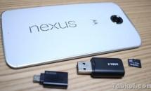 Nexus 6 でUSBメモリは認識するか、MicroSDカードリーダーを試す