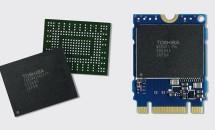 東芝、世界初 1g以下の256GB SSDを展示―PCI Express Single Package SSD「BGシリーズ」 #CES2015