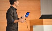 (速報)MS、スマートフォン向けWindows 10 のデモ披露