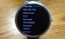 Moto 360のAndroid 5.0.2(LWX49L)アップデート配信開始