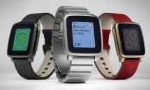 バッテリー10日間、ステンレススチール版『Pebble Time Steel』を発表/スマートウォッチ