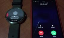 Android Wearスマートウォッチで「iPhone」の着信を受け取る動画が公開