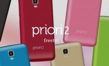 プラスワン、17,800円でLTE+デュアルSIM『freetel Priori2 LTE』発表―3/5発売