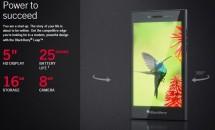 BlackBerry、5型HDスマホ『BlackBerry Leap』を発売/価格・スペック