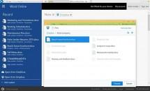 Webサービス『Office Online』、Dropboxへ直接ファイル作成や編集が可能に