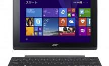 日本エイサー、着脱式キーボード2in1タブレット『Aspire Switch 10E』3機種を発表/スペック