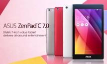 低価格デュアルSIMタブレット『ASUS ZenPad C 7.0 (Z170C)』のティザー動画が公開、スペック