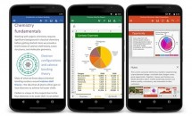 Microsoft、Androidスマートフォン向け『Office – Word/Excel/PowerPoint』アプリ正式リリース