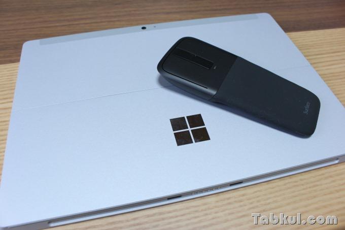 Arc Touch Mouse Surface エディションと専用アプリ、普通のノートPCで使えるか